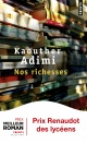 Couverture : Nos richesses Kaouther Adimi