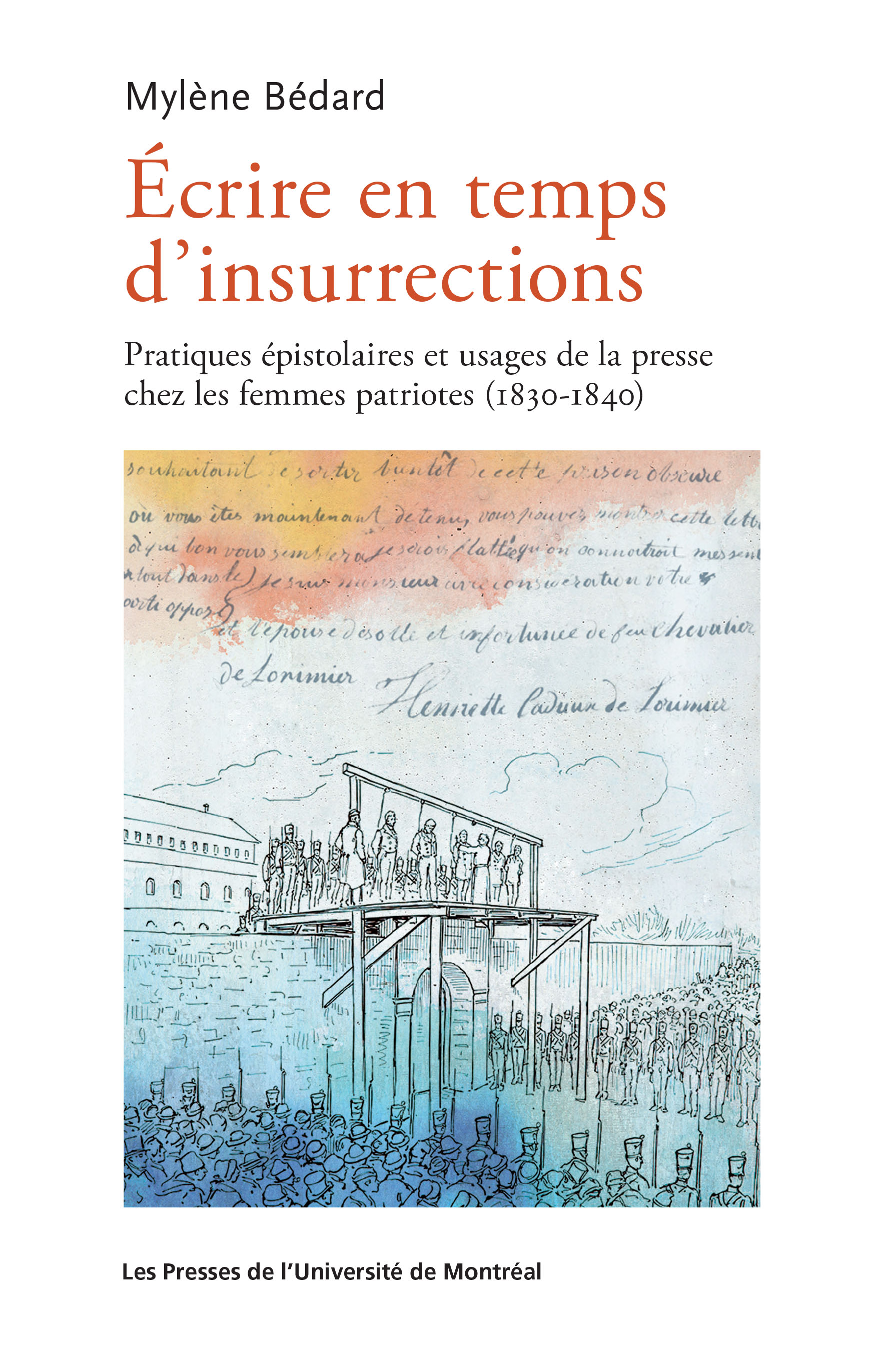 Écrire en temps d'insurrections: la pratique épistolaire...