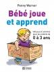 Couverture : Bébé joue et apprend: 160 jeux et activités pr enfants de 0-3 ans Penny Warner