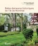 Couverture : Belles demeures historiques de l'île de Montréal Michel Lessard, François Rémillard, Brian Merrett