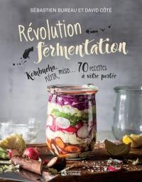 Révolution fermentation : kombucha, kéfir, miso... 70 recettee...