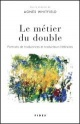 Couverture : Métier du Double (Le) Agnès Whitfield
