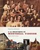 Couverture : À la découverte du Montréal yiddish Chantal Ringuet
