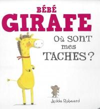 Bébé girafe : où sont mes taches?