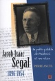 Couverture : Jacob Isaac Segal 1896-1954 Pierre Anctil