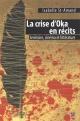 Couverture : Crise d'Oka en récits (La) Isabelle St-amand