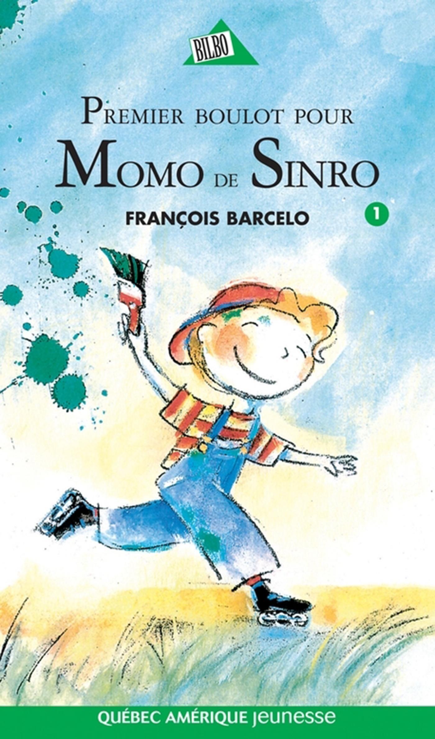 Couverture : Premier Boulot de Momo de Sinro T.1 François Barcelo