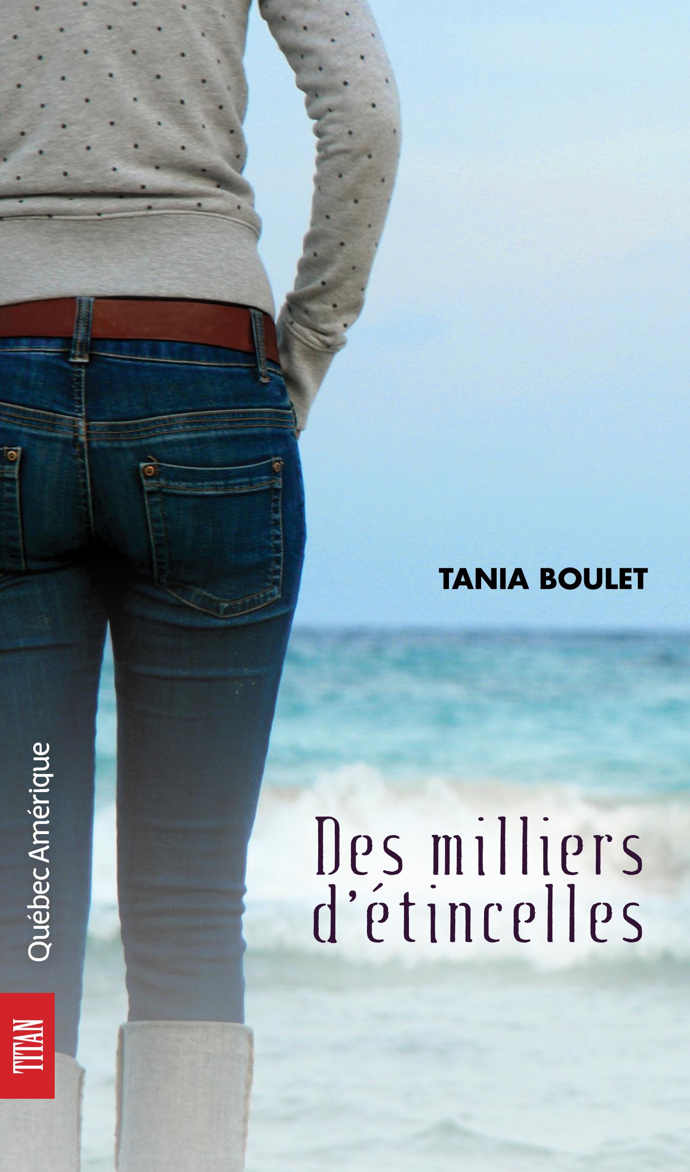 Couverture : Des Milliers d'Étincelles Tania Boulet