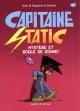Couverture : Capitaine Static T.6 : Mystère et boule de gomme! Alain M. Bergeron,  Sampar