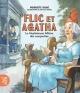 Couverture : Flic et Agatha T.1 : La mystérieuse affaire des casquettes Pierrette Dubé, Jean-luc Trudel