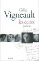 Couverture : Écrits (Les): Poèmes Gilles Vigneault