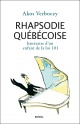 Couverture : Rhapsodie québécoise: itinéraire d'un enfant de la loi 101 Akos Verboczy