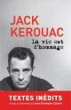 Couverture : La vie est d'hommage Jack Kerouac