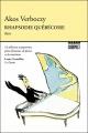Couverture : Rhapsodie québécoise : itinéraire d'un enfant de la loi 101 Akos Verboczy