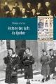 Couverture : Histoire des juifs du Québec Pierre Anctil