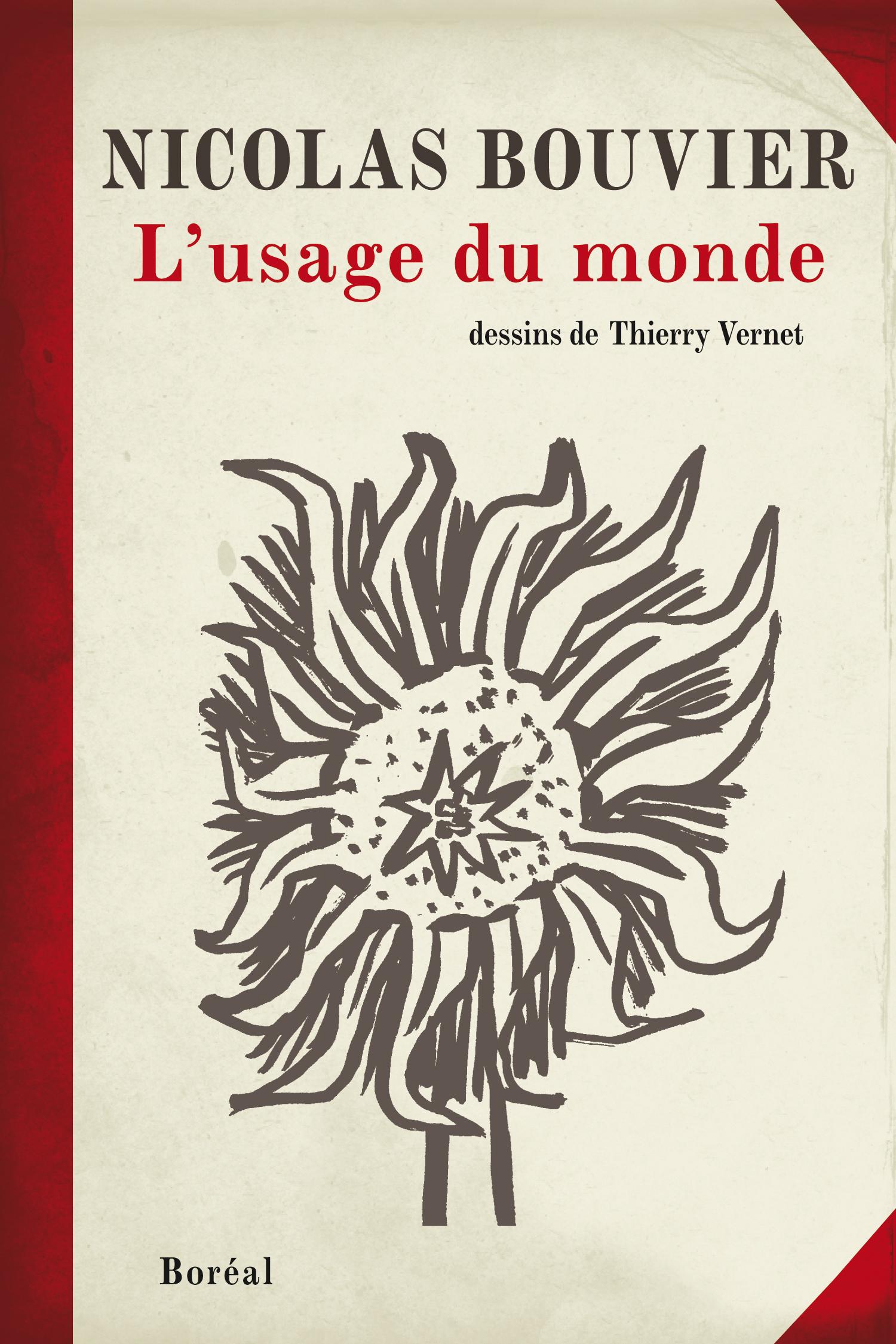 Couverture : Usage du monde (L') Nicolas Bouvier, Thierry Vernet