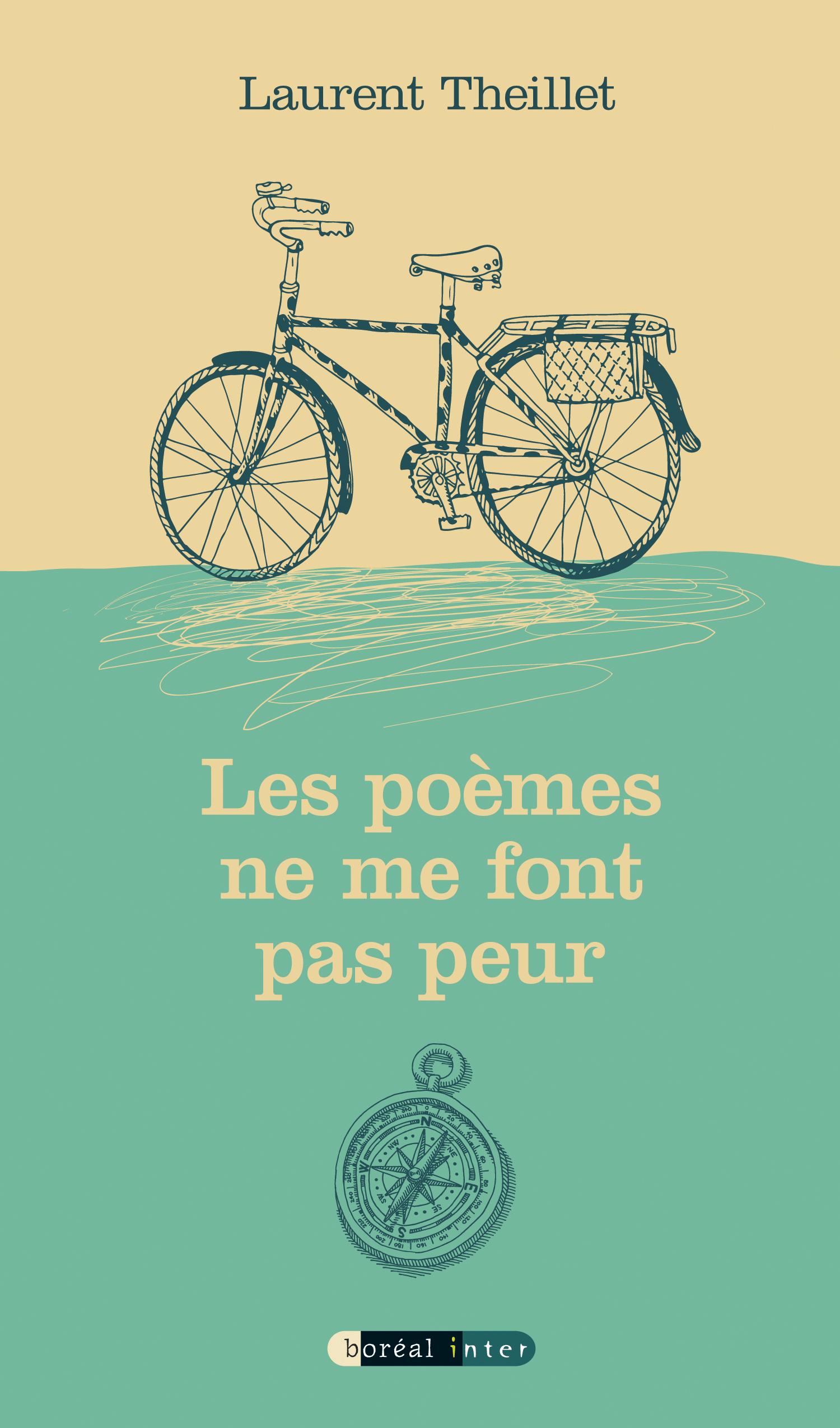 Couverture : Les poèmes ne me font pas peur Laurent Theillet