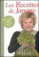 Couverture : Recettes de Janette Janette Bertrand