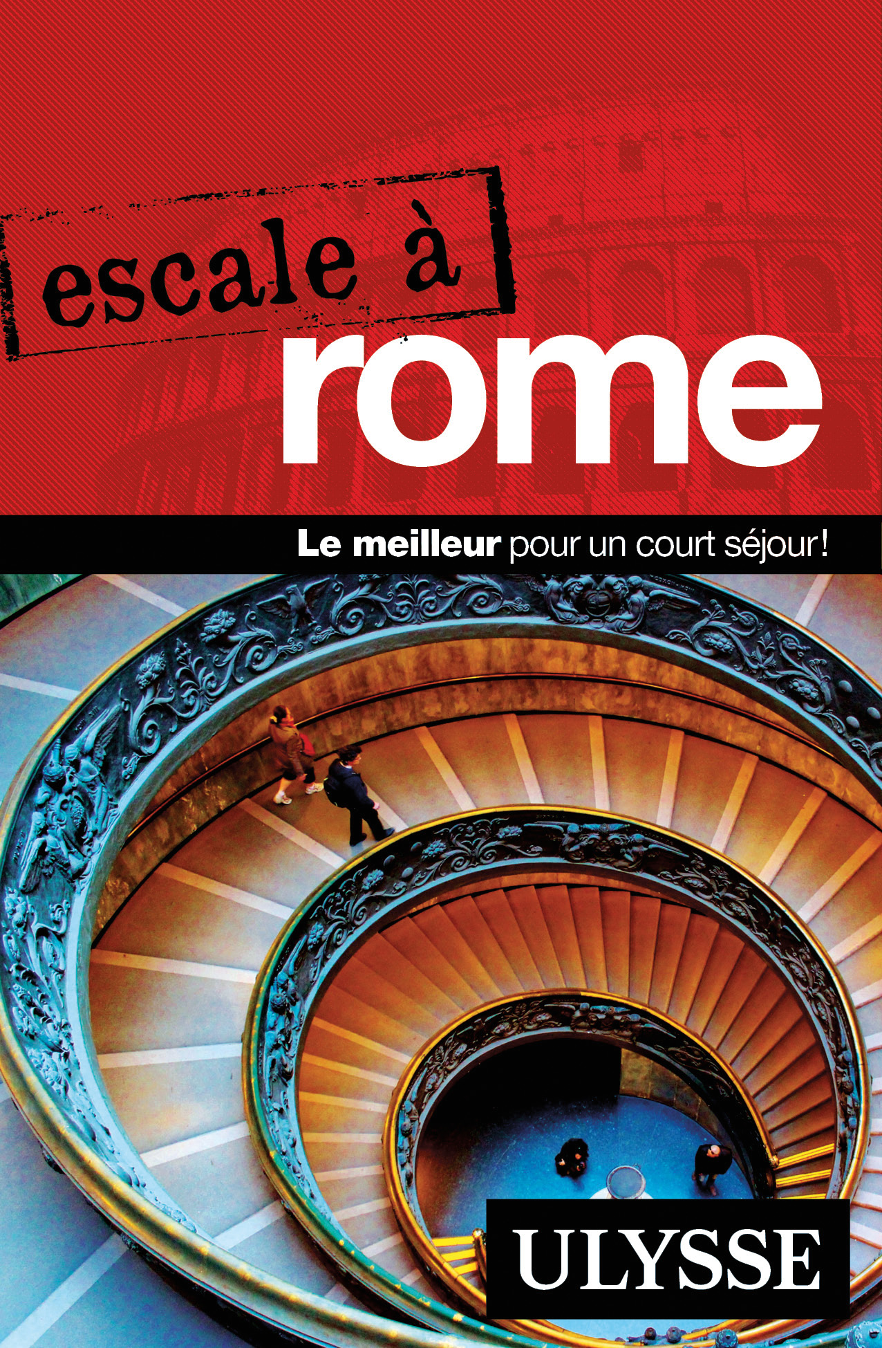 Couverture : Escale à Rome