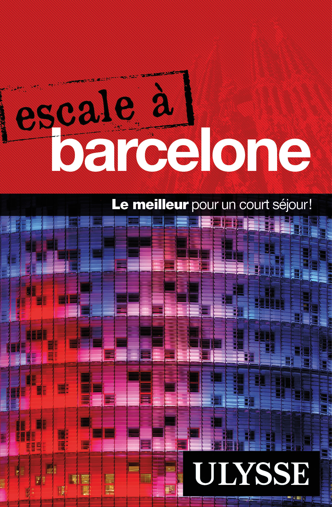 Couverture : Escale à Barcelone