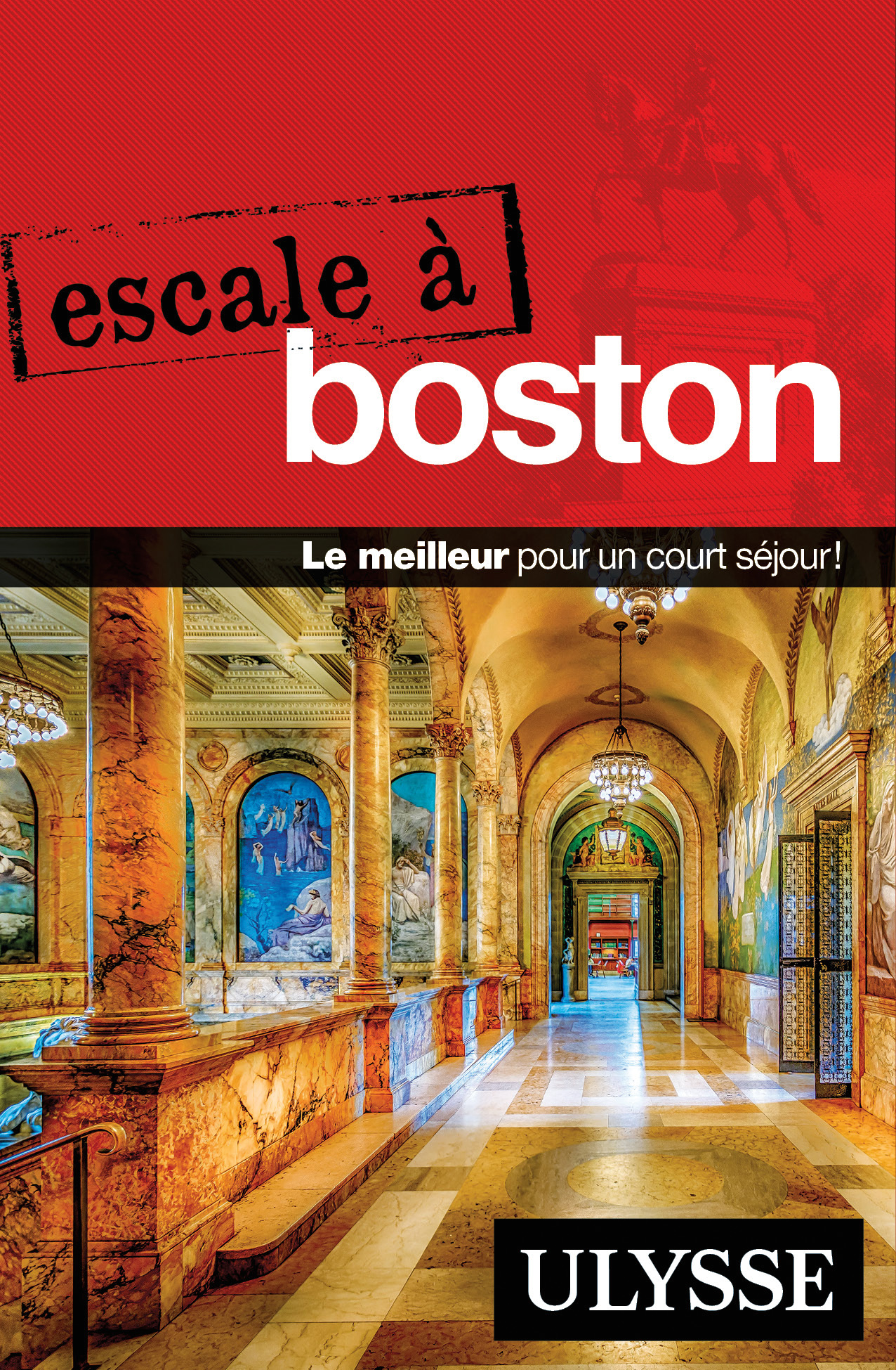 Couverture : Escale à Boston