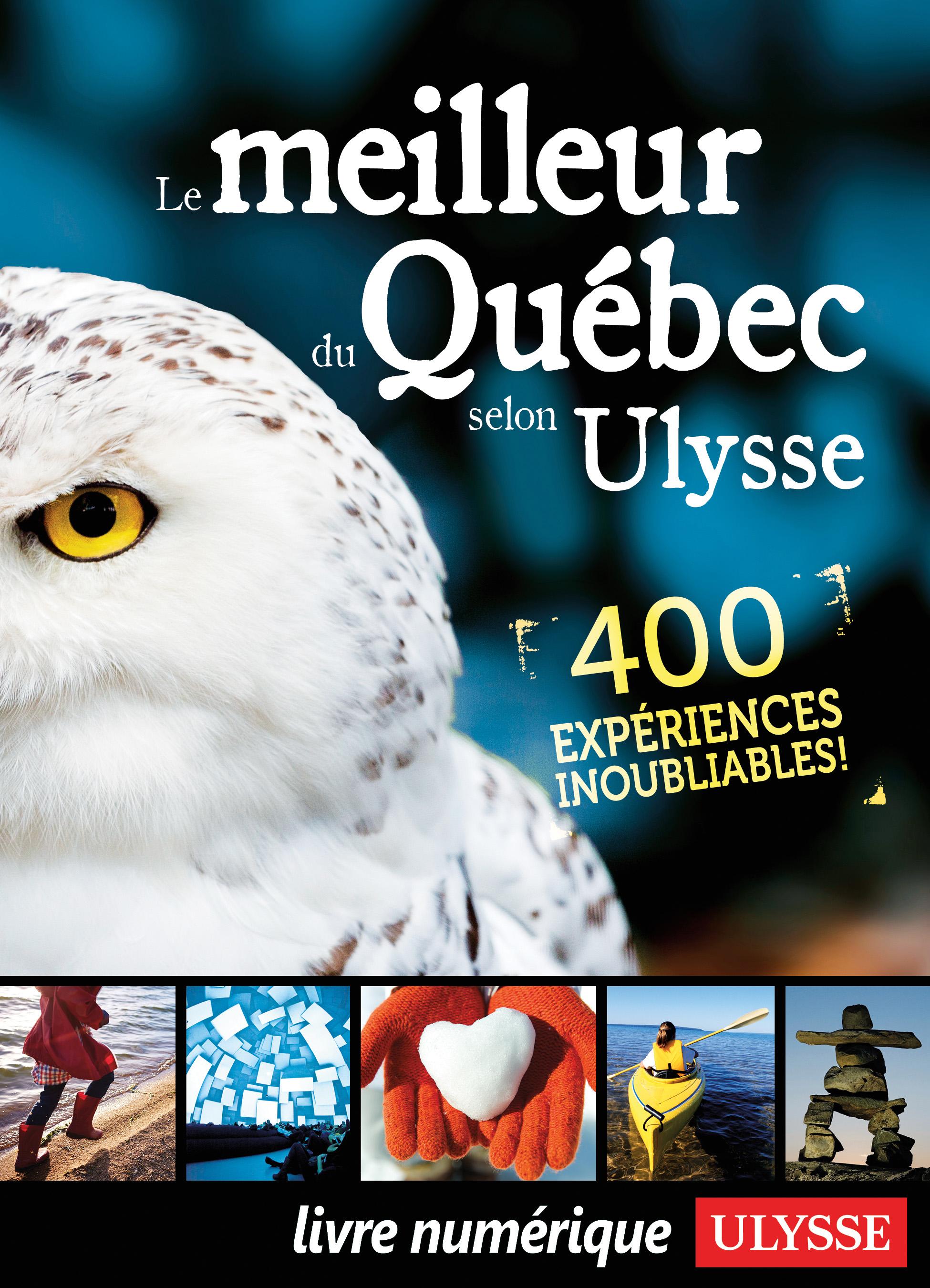 Couverture : Meilleur du Québec selon Ulysse (Le)