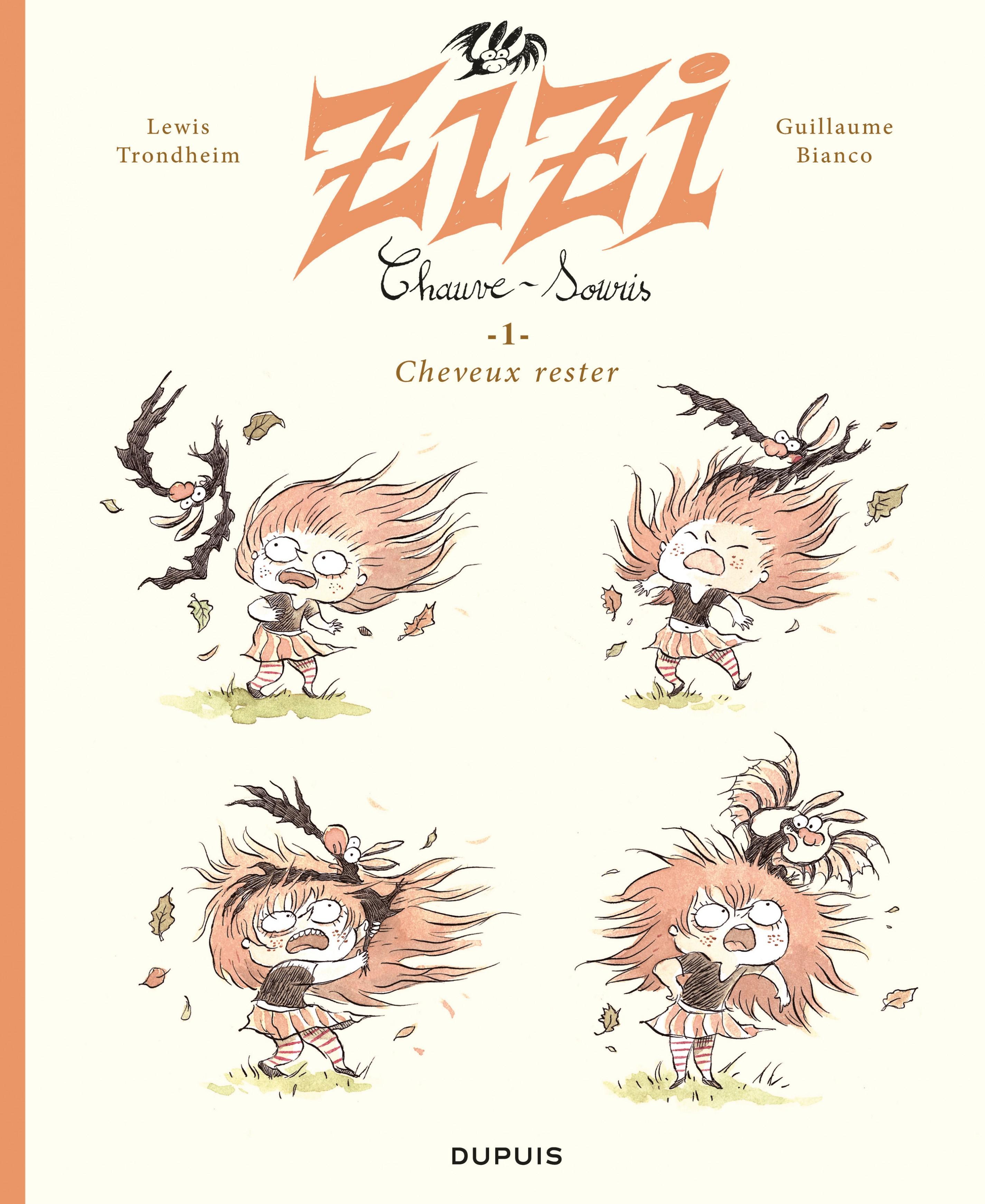 Zizi chauve-souris T.1 : Cheveux rester