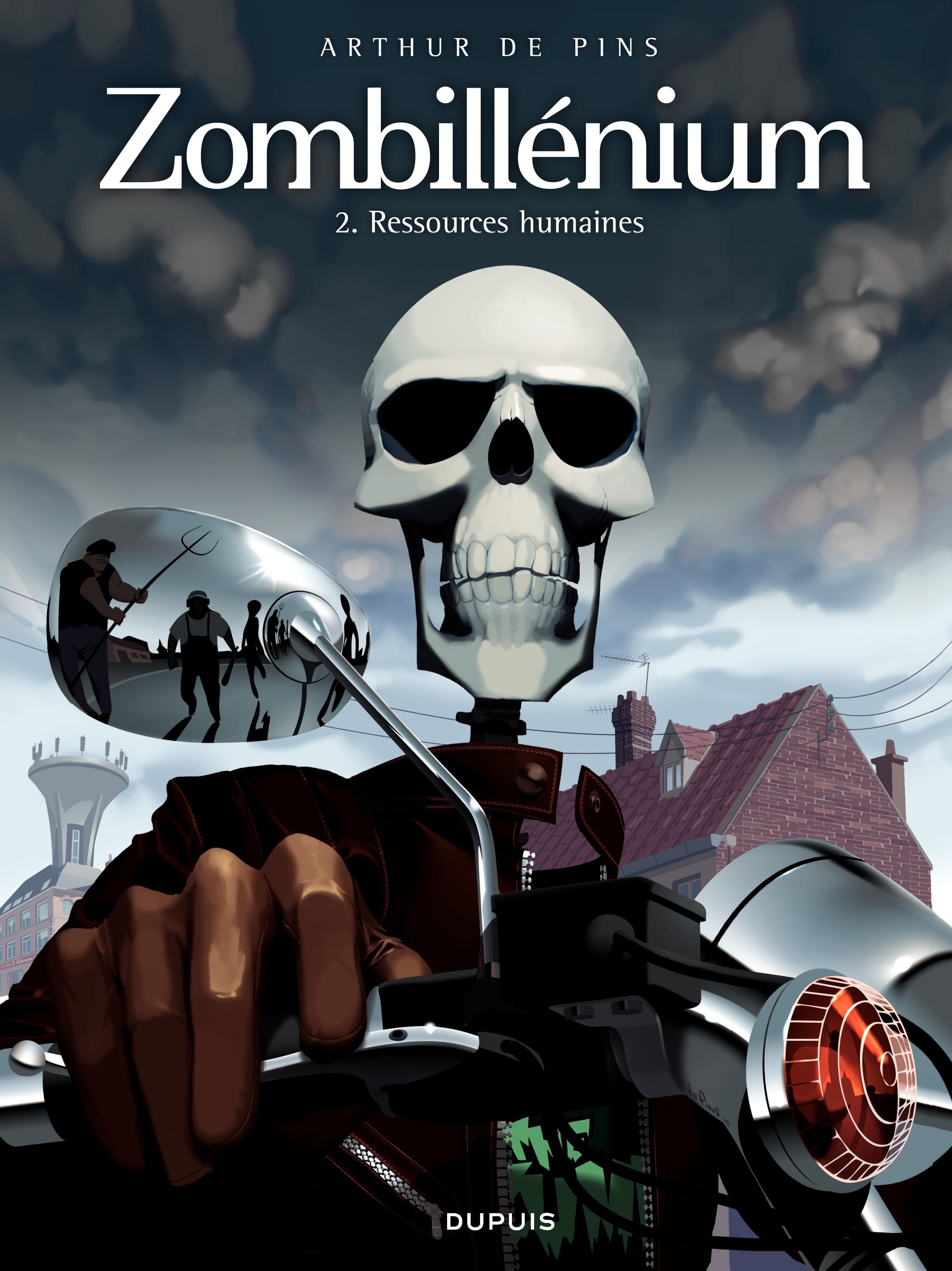 Couverture : Zombillénium T.2: Ressources humaines Arthur De Pins