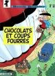 Couverture : Benoit Brisefer T.12 :Chocolats et coups fourrés Thierry Culliford