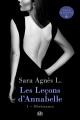 Couverture : Les leçons d'Annabelle T.1: Obéissance Sara Agnès L.