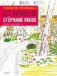 Couverture : Cahier de coloriages: les jardins de Stéphane Marie