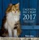 Couverture : L'agenda du chat 2017 Jean-louis Klein, Marie-luce Hubert