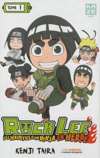 Rock Lee : Les péripéties d'un ninja en herbe T.1