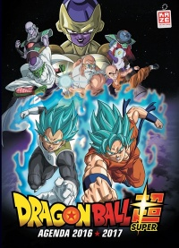 Vignette du livre Dragon Ball Super : agenda 2016-2017