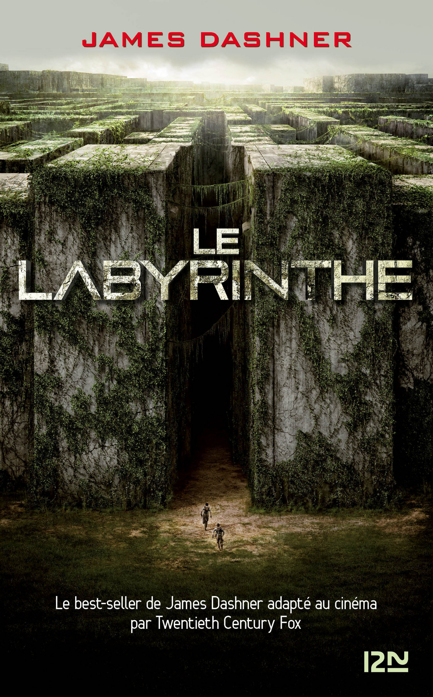 Couverture : L'épreuve T.1 : Le labyrinthe James Dashner