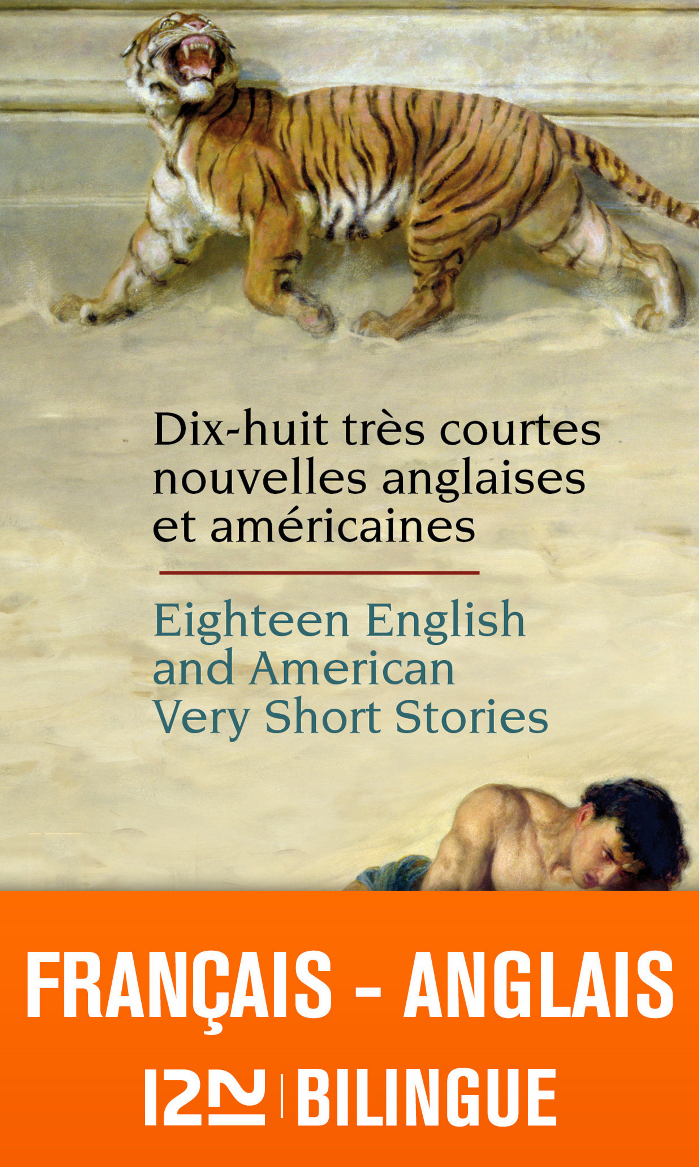 Vignette du livre Eighteen English and American very short stories: Les langues pou
