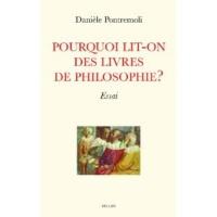 Pourquoi lit-on des livres de philosophie ?