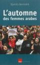 Couverture : L'automne des femmes arabes: essai Djemila Benhabib