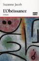 Couverture : Obéissance (L') Suzanne Jacob