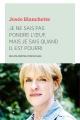 Couverture : Je ne sais pas pondre l'oeuf, mais je sais quand il est pourri Josée Blanchette