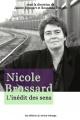 Couverture : Nicole Brossard: l'inédit des sens