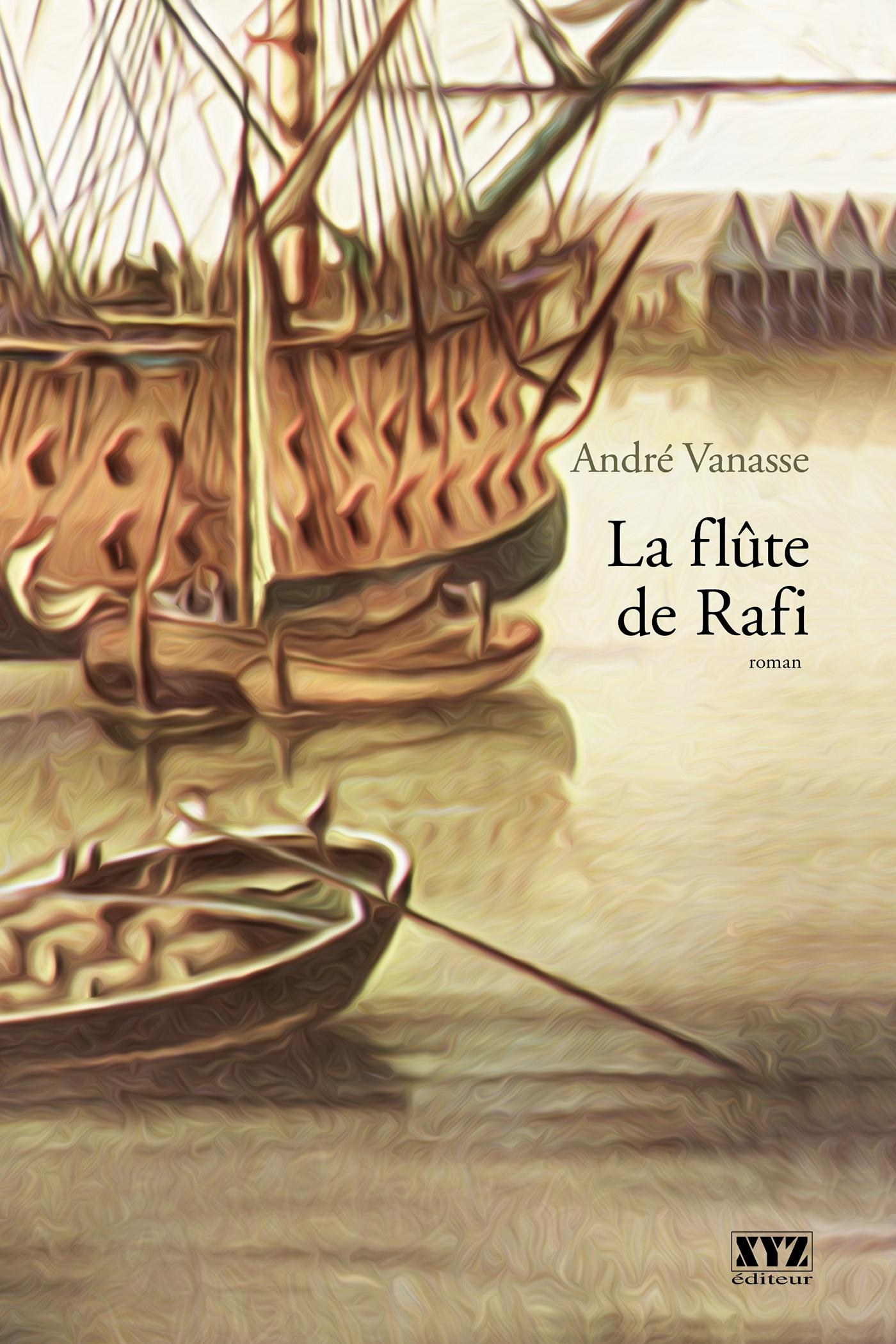 Couverture : Flûte de Rafi (La) André Vanasse