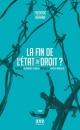 Couverture : Fin de l'état de droit? (La) Frédéric Bérard