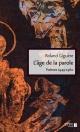 Couverture : L'âge de la parole : Poèmes, 1949-1960 Roland Giguère