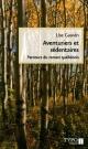 Couverture : Aventuriers et sédentaires Lise Gauvin