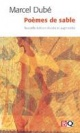 Couverture : Poèmes de sable Marcel Dubé