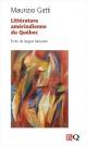 Couverture : Littérature amérindienne du Québec: Écrits de langue française Maurizio Gatti