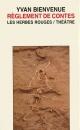 Couverture : Règlement de contes Bienvenue Yvan