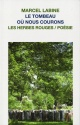 Couverture : Tombeau où nous courons (Le) Marcel Labine