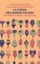 Couverture : La poésie des Herbes rouges : anthologie Jean-simon Desrochers, Roxane Desjardins